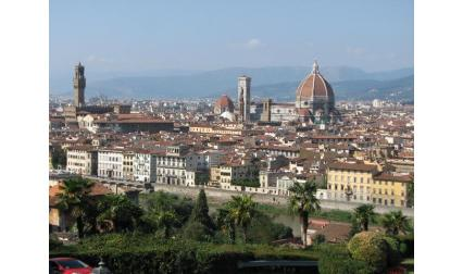 Изглед от Флоренция