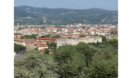 Изглед към град Флоренция