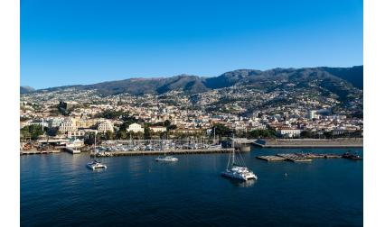 Столицата на остров Мадейра - Фуншал, Португалия