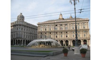 Фонтан в Генуа