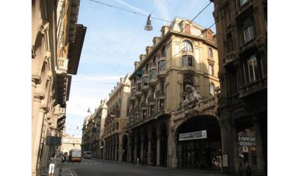Генуа - красива улица