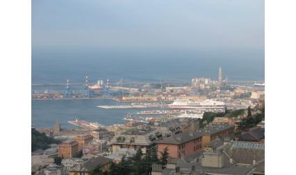 Изглед от Генуа
