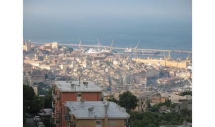 Генуа - изглед от града