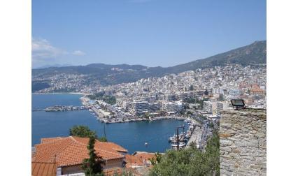 Изглед към Кавала - Гърция