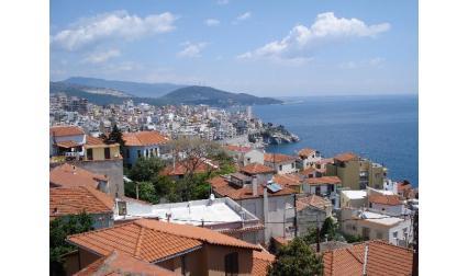 Кавала - изглед от високо - Гърция