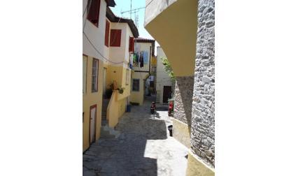 Уличка в Кавала - Гърция