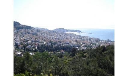 Панорама от Кавала -  Гърция