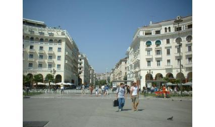 Солун - център