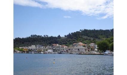 Изглед към остров Тасос - Гърция
