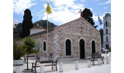 Църква на остров Тасос - Гърция