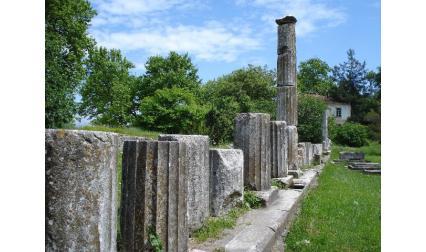 Руини на остров Тасос - Гърция