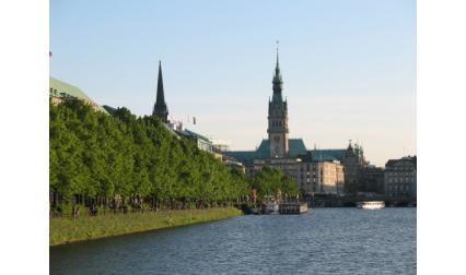 Изглед от Хамбург