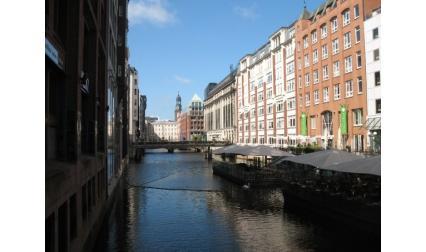 Канал във Хамбург