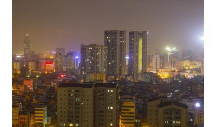 Изглед от Ханой, Виетнам