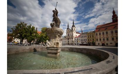 Изглед от Ихлава, Чехия