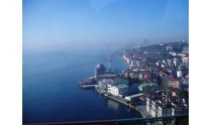 Изглед от Истанбул
