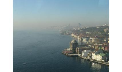 Изглед от Истанбул и Босфора