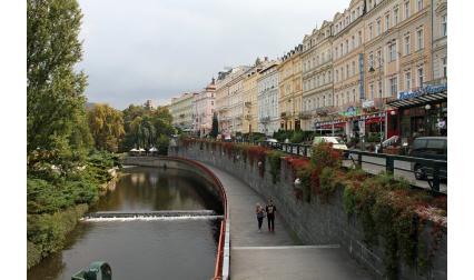 Изглед от Карлови вари, Чехия