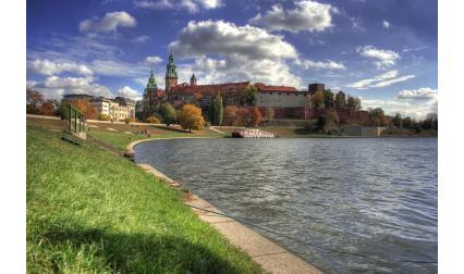 Изглед от Краков, Полша