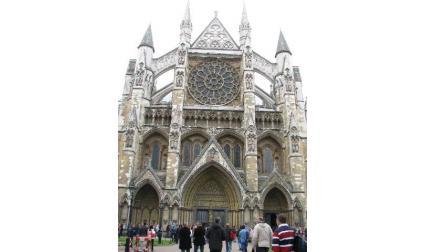 Уестминстърското абатство - фасада