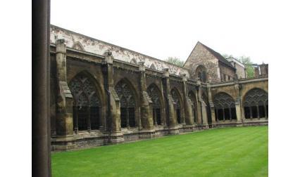 Уестминстърското абатство - двор