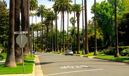 Улица в Лос Анджелис