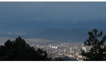 Скопие - изглед
