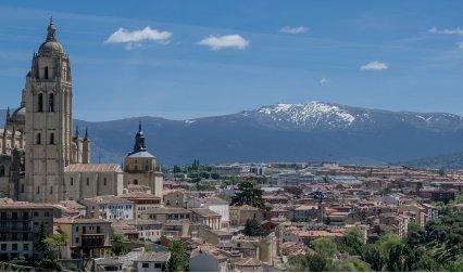Изглед от Мадрид