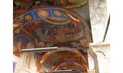 Крива паланка - манастир фрески