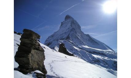Изглед от връх Матерхорн