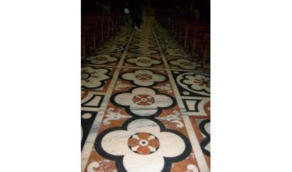 Миланската катедрала - под