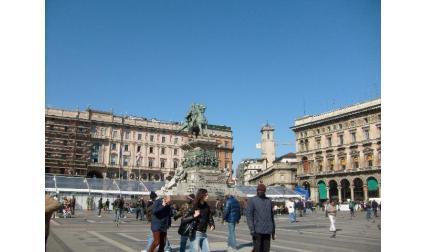 Милано - катедрлания площад