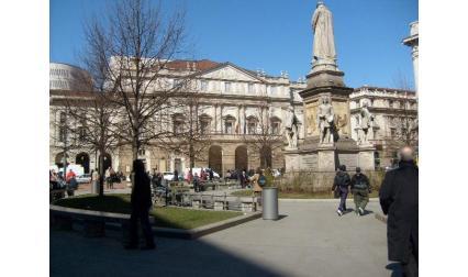 Милано - Паметник на Леонардо