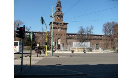 Милано - замъкът на Сфорците