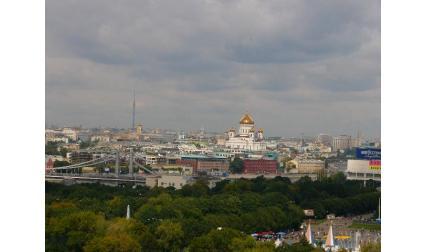 Изглед от Москва