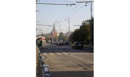 Улица в Москва