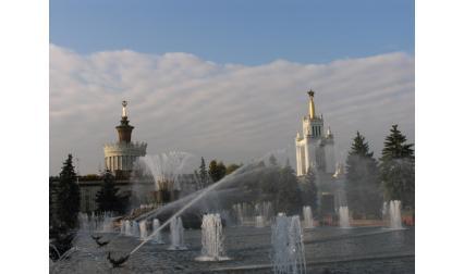 Москва - фонтан