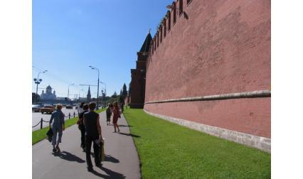 Москва - стената на Кремъл
