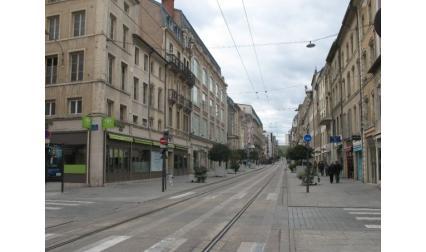 Улица в Нанси