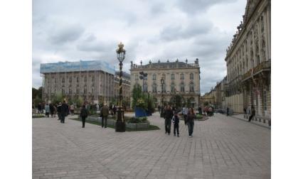 Нанси - централния площад