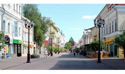 Изглед от Нижни Новгород