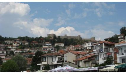 Охрид и Самуиловата крепост