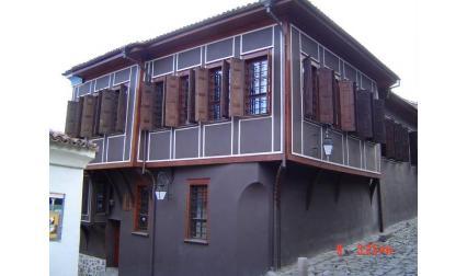 Изглед от старият град на Пловдив