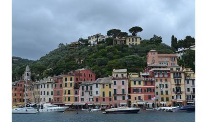 Изглед от Портофино, Италия