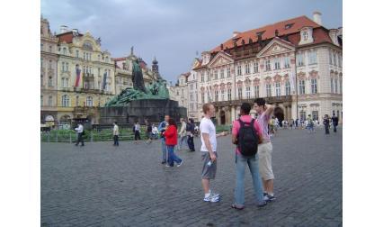 Прага - център