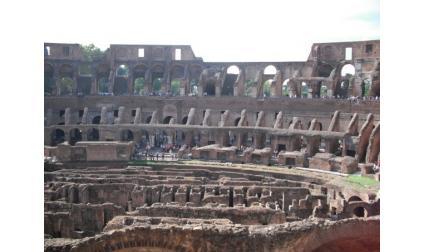 Рим - Колизеумът от вътре
