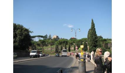 Рим - изглед от Колизеума