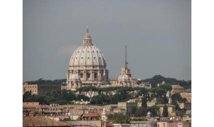 Рим -изглед към Свети Петър