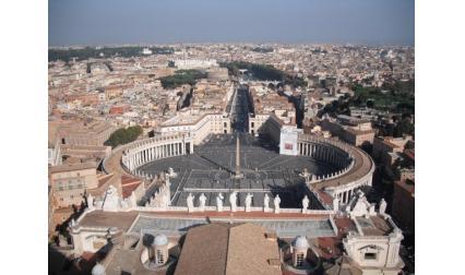 Ватиканът - Рим - площад Свети Петър