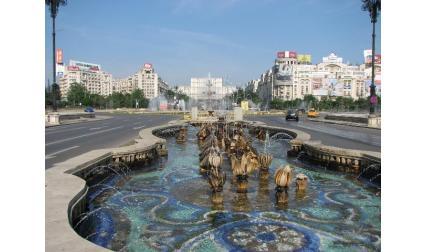 Букурещ - красиви фонтани